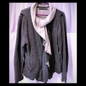 Black Noir Distressed jacket